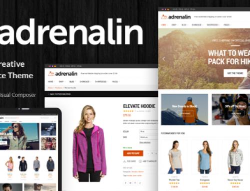 Eticaret web site örneği Adrenalin