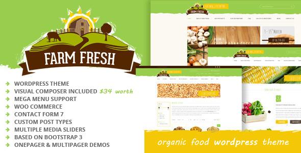 Organik Tarım Çiftlik Web Sitesi Örnekleri