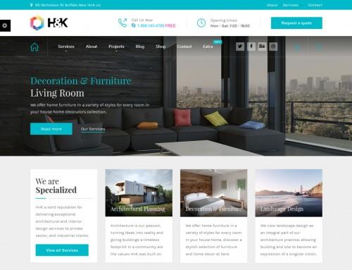 Mimarlık Web sitesi örneği H&K