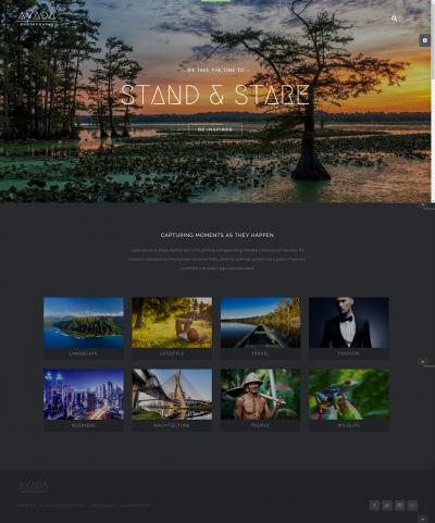 fotoğrafçı web site örneği, fotoğrafçı web site şeması, fotoğrafçı web site şablonu