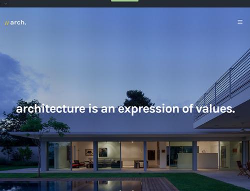 Mimarlık Ofisi Web Sitesi Örneği Kalium